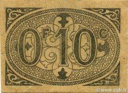 10 Centimes ALGÉRIE Alger 1917 JPCV.07 SUP