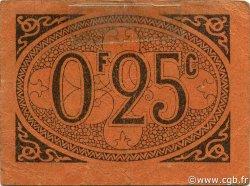 25 Centimes ALGER ALGÉRIE ALGER 1917 JPCV.11 TTB