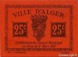 25 Centimes ALGER ALGÉRIE Alger 1917 JPCV.11 SPL
