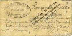 2 Francs BÉNISAF ALGÉRIE Bénisaf 1915 JPCV.13 pr.TTB