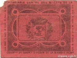 10 Centimes BERROUAGHIA ALGÉRIE Berrouaghia 1916 JPCV.02 TTB