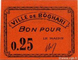25 Centimes BOGHARI ALGÉRIE BOGHARI 1916 JPCV.03 NEUF