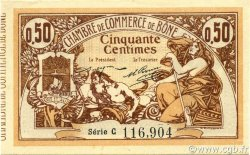 50 Centimes BÔNE ALGÉRIE BÔNE 1915 JP.138.01 NEUF