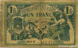 1 Franc BÔNE ALGÉRIE Bône 1917 JP.138.05 B