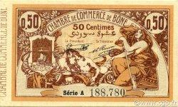 50 Centimes BÔNE ALGÉRIE BÔNE 1918 JP.138.06 SUP