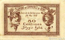 50 Centimes BÔNE ALGÉRIE BÔNE 1918 JP.138.06 SPL