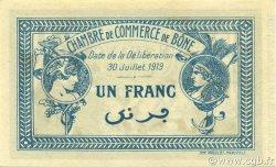 1 Franc BÔNE ALGÉRIE BÔNE 1919 JP.138.09 NEUF