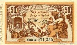 50 Centimes BÔNE ALGÉRIE BÔNE 1920 JP.138.12 NEUF