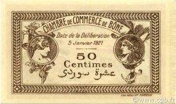 50 Centimes BÔNE ALGÉRIE BÔNE 1921 JP.138.14 SUP+