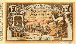 50 Centimes BÔNE ALGÉRIE Bône 1921 JP.138.14 NEUF