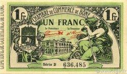 1 Franc ALGÉRIE Bône 1921 JP.138.15 NEUF