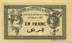 1 Franc ALGÉRIE Bône 1921 JP.138.19 pr.NEUF