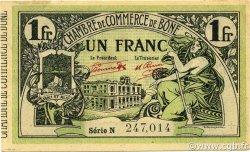 1 Franc BÔNE ALGÉRIE BÔNE 1921 JP.138.19 SUP+