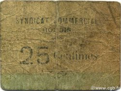 25 Centimes BÔNE ALGÉRIE BÔNE 1916 JPCV.09 B+
