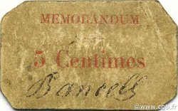 5 Centimes BOUGIE ALGÉRIE BOUGIE 1916 JPCV.01 TB
