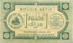 1 Franc BOUGIE SETIF ALGÉRIE BOUGIE SETIF 1915 JP.139.02 NEUF