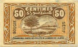 50 Centimes BOUGIE SETIF ALGÉRIE BOUGIE, SÉTIF 1918 JP.139.05 SUP