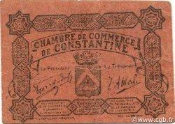 10 Centimes CONSTANTINE ALGÉRIE CONSTANTINE 1915 JP.047 TTB+
