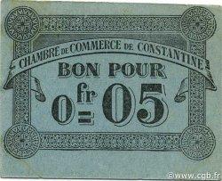 5 Centimes ALGÉRIE Constantine 1915 JP.048 NEUF