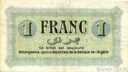 1 Franc ALGÉRIE Constantine 1915 JP.140.02 TTB