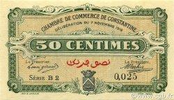 50 Centimes CONSTANTINE ALGÉRIE CONSTANTINE 1916 JP.140.06 NEUF