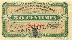 50 Centimes CONSTANTINE ALGÉRIE CONSTANTINE 1916 JP.140.07 SUP