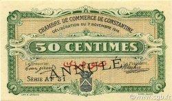 50 Centimes ALGÉRIE Constantine 1916 JP.140.09 pr.NEUF
