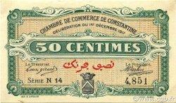 50 Centimes CONSTANTINE ALGÉRIE CONSTANTINE 1917 JP.140.12 SUP+