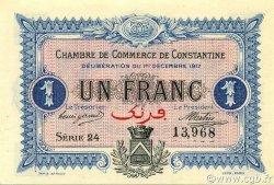 1 Franc CONSTANTINE ALGÉRIE CONSTANTINE 1917 JP.140.15 NEUF