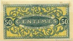 50 Centimes CONSTANTINE ALGÉRIE CONSTANTINE 1918 JP.140.17 SUP+