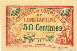 50 Centimes CONSTANTINE ALGÉRIE CONSTANTINE 1921 JP.140.27 NEUF