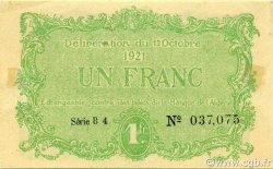 1 Franc CONSTANTINE ALGÉRIE CONSTANTINE 1921 JP.140.34 SUP+