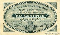 50 Centimes CONSTANTINE ALGÉRIE CONSTANTINE 1922 JP.140.36 SUP+
