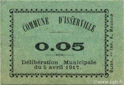 5 Centimes ISSERVILLE ALGÉRIE ISSERVILLE 1917 JPCV.01 pr.NEUF