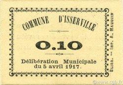 10 Centimes ISSERVILLE ALGÉRIE ISSERVILLE 1917 JPCV.02 pr.NEUF