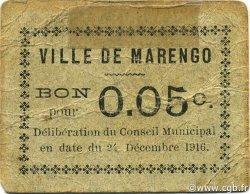 5 Centimes MARENGO ALGÉRIE MARENGO 1916 JPCV.01 TB+