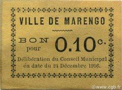 10 Centimes MARENGO ALGÉRIE MARENGO 1916 JPCV.04 SPL
