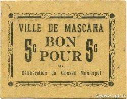 5 Centimes MASCARA ALGÉRIE MASCARA 1916 JPCV.01 SPL