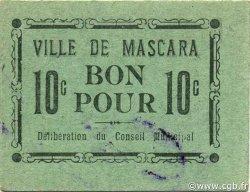 10 Centimes MASCARA ALGÉRIE MASCARA 1916 JPCV.02 SPL