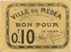 10 Centimes MÉDÉA ALGÉRIE MÉDÉA 1916 JPCV.02 SUP+