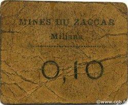 10 Centimes MILIANA ALGÉRIE MILIANA 1916 JPCV.- B+