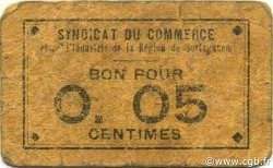 5 Centimes MOSTAGANEM ALGÉRIE Mostaganem 1916 JPCV.01 B+