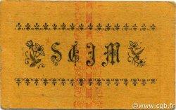 5 Centimes MOSTAGANEM ALGÉRIE MOSTAGANEM 1916 JPCV.04 pr.TTB