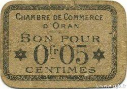 5 Centimes ORAN ALGÉRIE ORAN 1916 JP.048