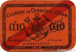 10 Centimes ORAN ALGÉRIE ORAN 1916 JP.049 pr.NEUF