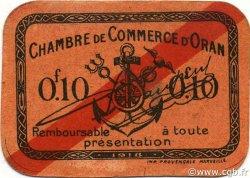 10 Centimes ORAN ALGÉRIE ORAN 1918 JP.053 pr.NEUF