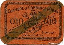 10 Centimes ORAN ALGÉRIE ORAN 1920 JP.057 TTB