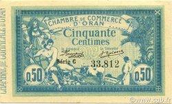 50 Centimes ORAN ALGÉRIE ORAN 1915 JP.141.01 pr.NEUF