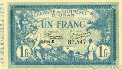 1 Franc ORAN ALGÉRIE ORAN 1915 JP.141.02 pr.NEUF