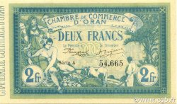 2 Francs ALGÉRIE Oran 1915 JP.141.03 pr.NEUF